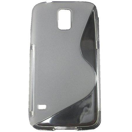 Capa Case S Type para Samsung Galaxy S5 de TPU Transparente .