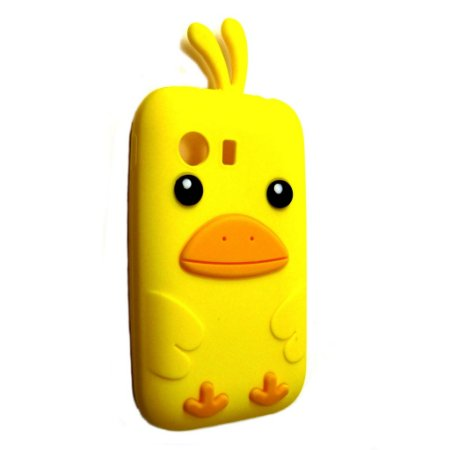 Capa Case Samsung Galaxy Y S5360 Passarinho Amarelo