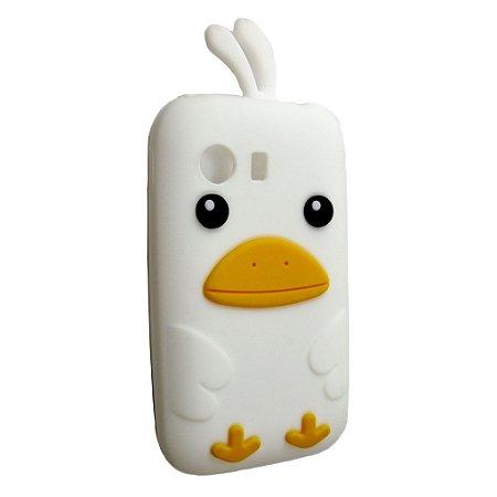 Capa Case Samsung Galaxy Y S5360 Passarinho Branco