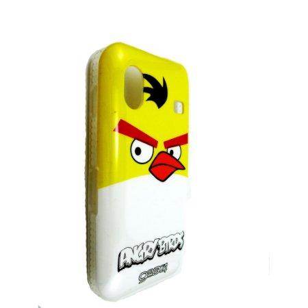 Capa Case para Samsung Galaxy Ace ( S5830) Angry Birds Yellow Chuck