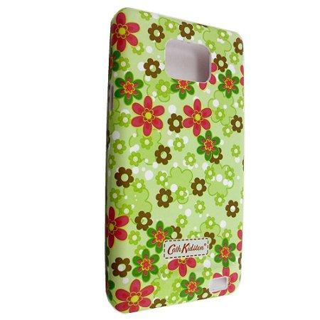 Capa Case para Samsung Galaxy S2 Cath Kidston Green Garden