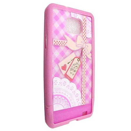 Capa Case 86 ERO para Samsung Galaxy S2 Gift Candy