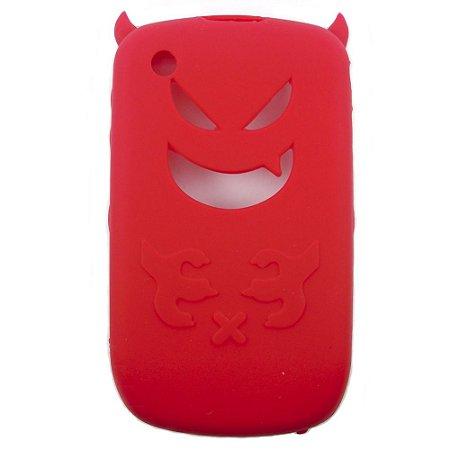 Capa de Silicone Devil para Blackberry 8520 / 8530 / 9300