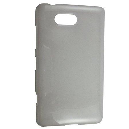 Capa de TPU Branco para Nokia Lumia 820