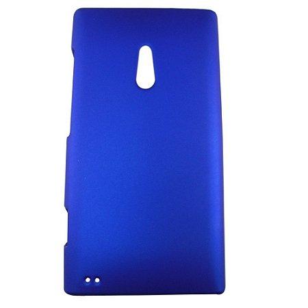 Capa de Plástico Resistente para Nokia Lumia 800 - Azul