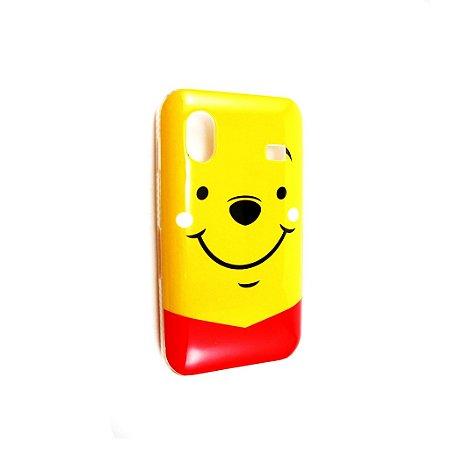 Capa Case para Samsung Galaxy Ace ( S5830) Disney Ursinho Puff Winnie Pooh