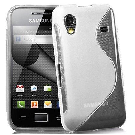 Capa Case S Type para Samsung Galaxy Ace ( S5830)  TPU Transparente