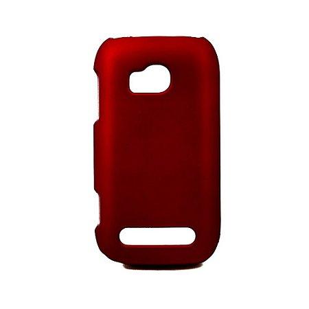 Capas de Plástico Resistente Vermelho para Nokia Lumia 710