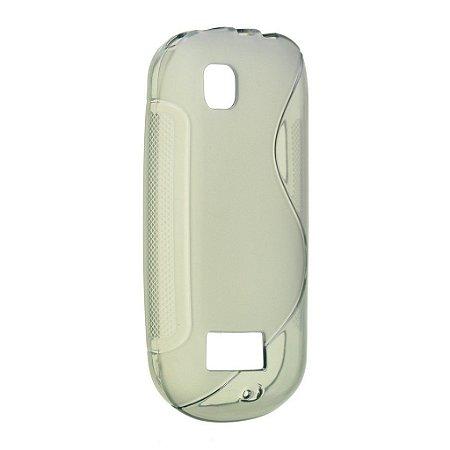 Capa S Type para Nolia Asha 200 / 201 de TPU Transparente