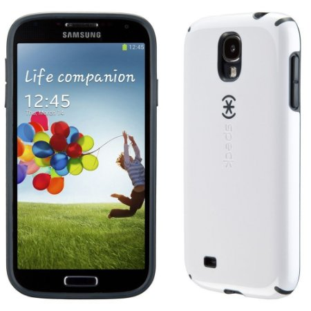 Capa Case Speck CandyShell Samsung Galaxy S4  Cinza e Branco