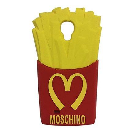Capa Moschino Batata Frita McDonalds para Galaxy S4