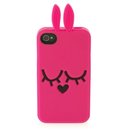 Capa Case Marc by Marc Jacobs Coelho para iPhone 4 e 4S