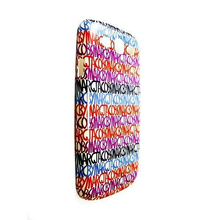 Capa Case Marc by Marc Jacobs Letras Monogram para Samsung Galaxy S3