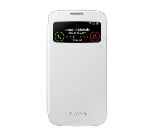 Capa Case para Samsung Galaxy S4 Flip Cover View - Branco