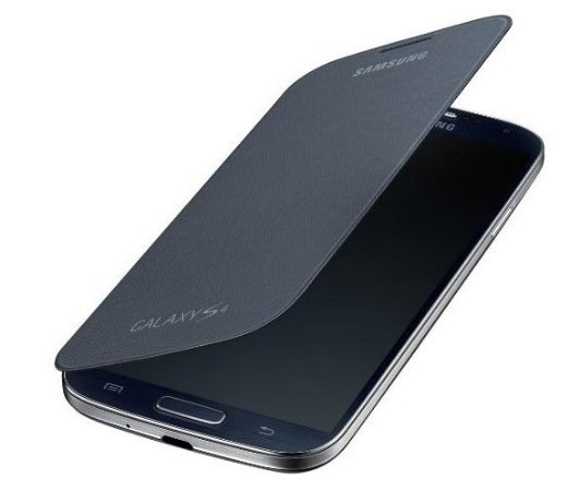 Capa Case para Samsung Galaxy S4 Flip Cover - Preto
