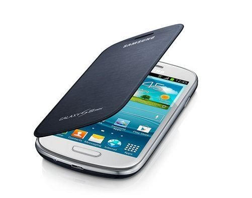 Capa Case para Samsung Galaxy S3 Mini Flip Cover - Preto