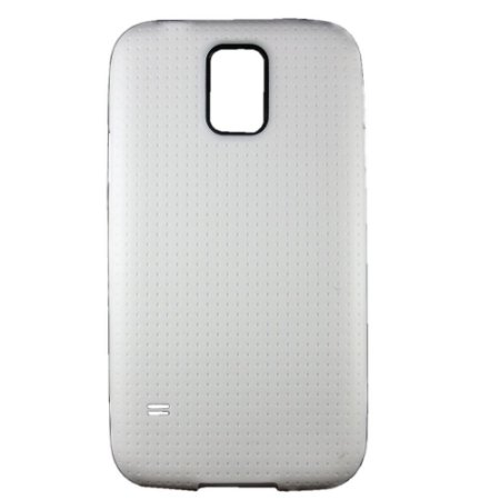 Capa Case para Samsung Galaxy S5 de TPU Branco.