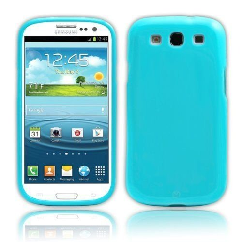 Capa Case TPU Azul Brilho para Samsung Galaxy S3