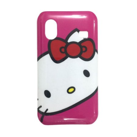 Capa Case para Samsung Galaxy Ace ( S5830) Hello Kitty Rosa