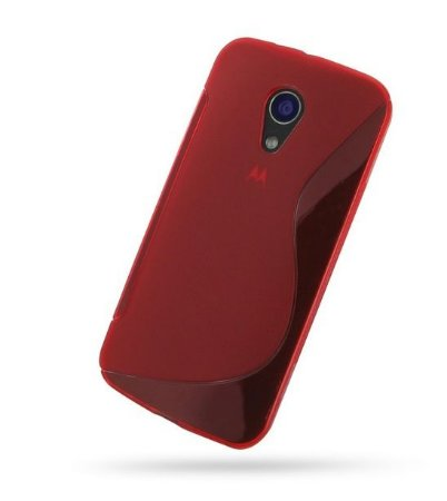 Capa Case S Type para Motorola Moto G2 - Vermelho