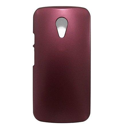 Capa Case para Motorola Moto G2 ( 2nd Geração) -  Vinho