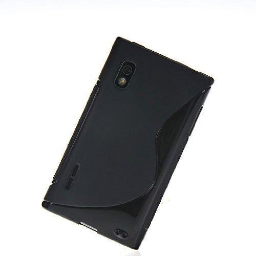 Capa Case S Type de TPU Premium para  LG Optimus L5 - Preto