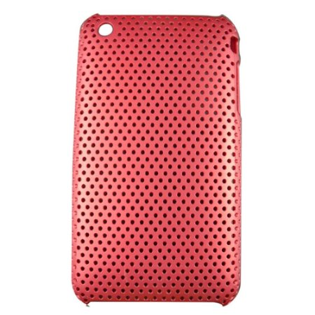 Capa Case Mesh Vermelha para iPhone 3