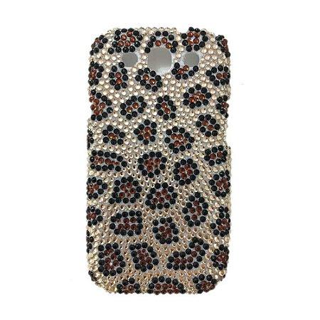 Capa Case Onça de Strass para Samsung Galaxy S3