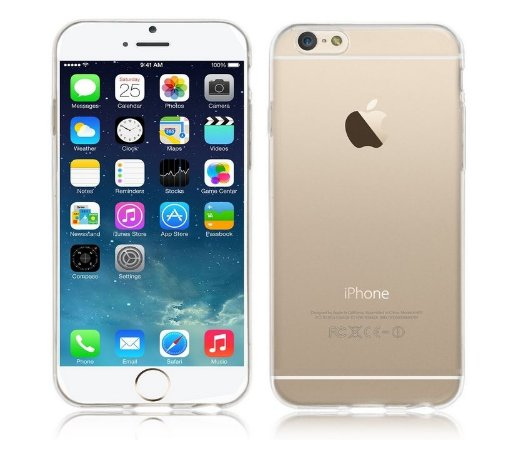 Capa Case de TPU Transparente para Iphone 6 Plus  - 5,5 Polegadas