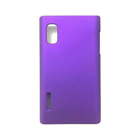 Capa Case para LG Optimus L5 - Roxo