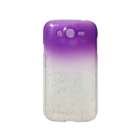 Capa Case Samsung Gran Duos ( I9080 / I9082 ) Rain Drop Roxo