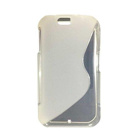 Capa Case S Type de TPU Premium para Motorola Iron Rock - Translucido
