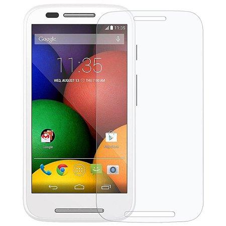 Película para Motorola Moto E de vidro temperado.