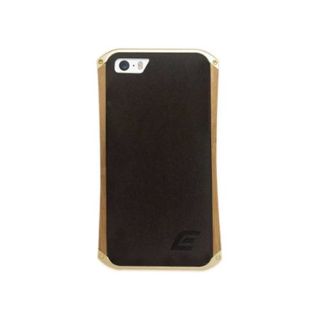 Bumper Element Ronin iPhone 5/5S Metal Champanhe e Madeira.