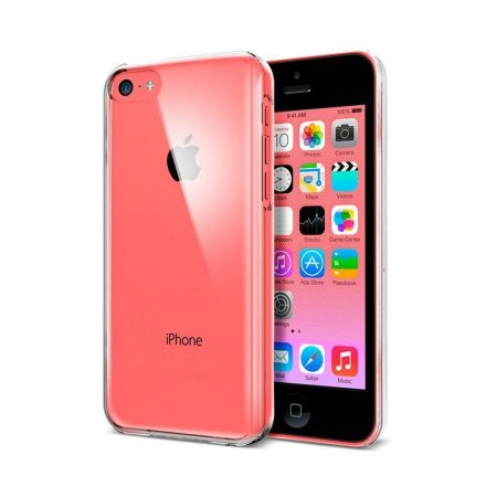Capa Case de TPU Transparente para Iphone 5C Ultra Fina