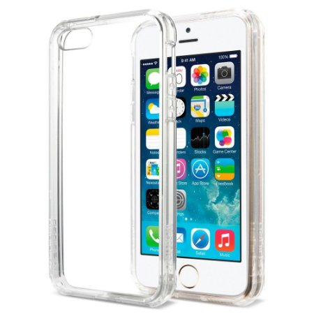 Capa Case de TPU Transparente para Iphone 5/5S Ultra Fina