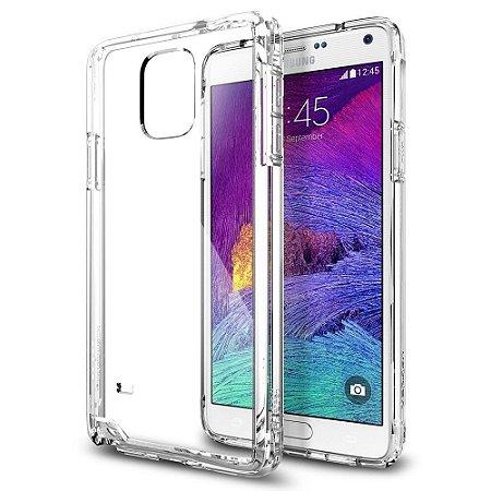 Capa Case de TPU Transparente para Samsung Galaxy Note 4 Ultra fina