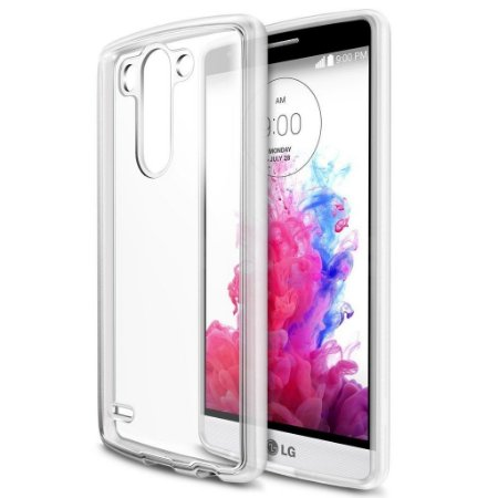 Capa Case de TPU Transparente LG G3 Ultra fina