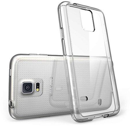Capa Case de TPU Transparente para Samsung Galaxy S5 mini Ultra Fina