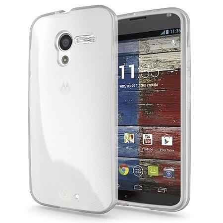 Capa Case de TPU Transparente para Motorola Moto G 2ª Geração Ultra fina.