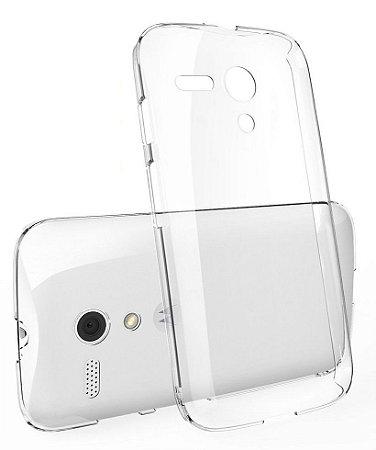 Capa Case de TPU Transparente para Motorola Moto G 1ª Geração Ultra fina.