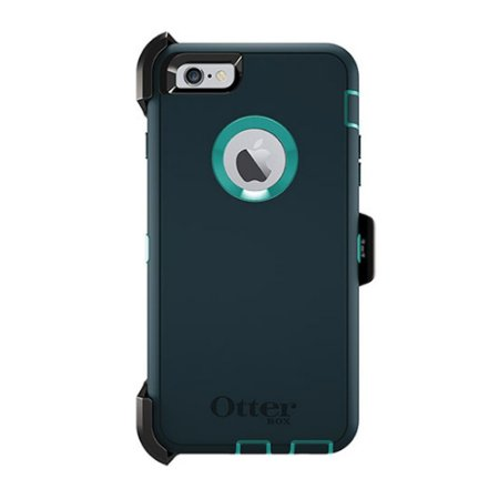 Capa Otterbox defender para iPhone 6 Plus - Jade e Azul