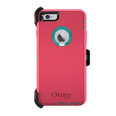 Capa Otterbox defender para iPhone 6 Plus - Rosa e Azul