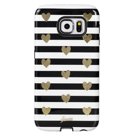 Capa Sonix Heart Strip Gold para Samsung Galaxy S6