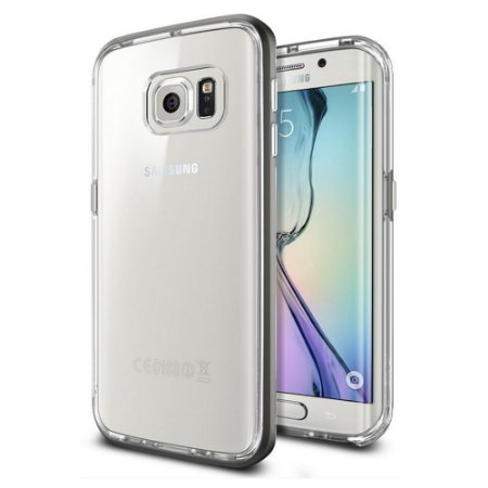 Capa SGP Spigen Neo Hybrid CC para Galaxy S6 Edge - Gunmetal