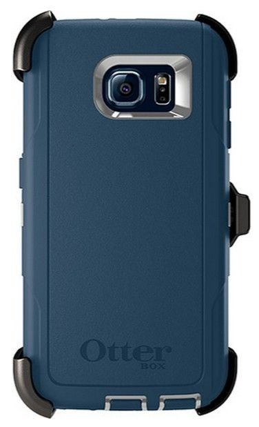 Capa Case Otterbox Defender para Galaxy S6 - Casual Blue