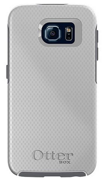 Capa Otterbox Symmetry P/ Galaxy S6 - Carbon Fiber Metallic