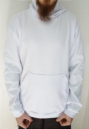 Blusão de Moletom Canguru Liso