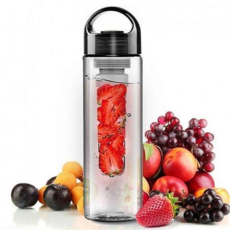 Garrafa com infusor para chás e frutas 700ml