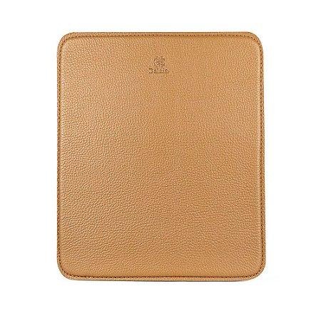 Mouse pad personalizável em couro avelã